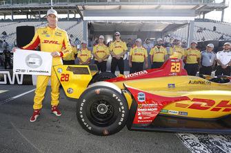 Polesitter Ryan Hunter-Reay, Andretti Autosport Honda