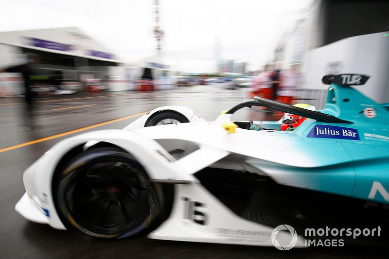 Oliver Turvey, NIO Formula E Team, NIO Sport 004 exits the garage