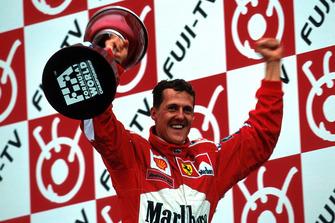 Michael Schumacher, Ferrari F1 2000, World Champion
