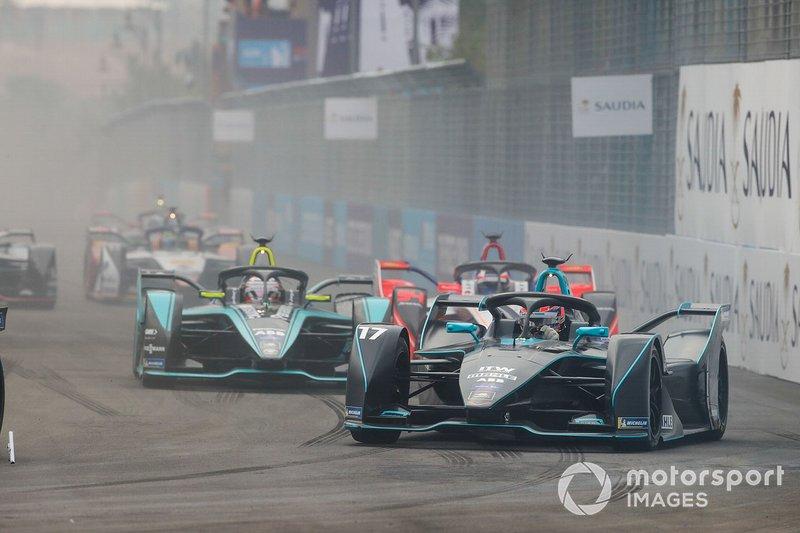 Gary Paffett, HWA Racelab, VFE-05, Nelson Piquet Jr., Panasonic Jaguar Racing, Jaguar I-Type 3, Felix Rosenqvist, Mahindra Racing, M5 Electro
