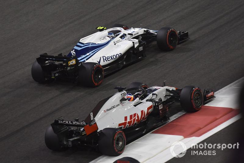 Ромен Грожан, Haas F1 Team VF-18, Сергій Сироткін, Williams FW41