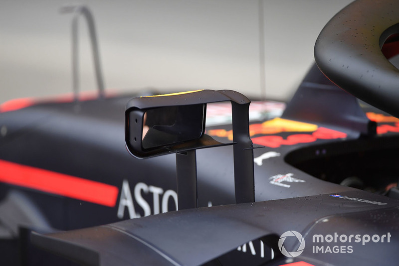 Rétroviseur de la Red Bull Racing RB14