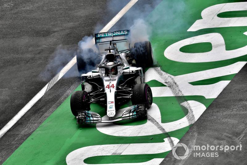 Lewis Hamilton - Mercedes: 8 puan