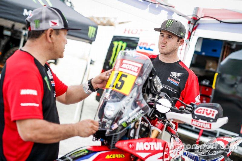 #15 Monster Energy Honda Team: Ricky Brabec