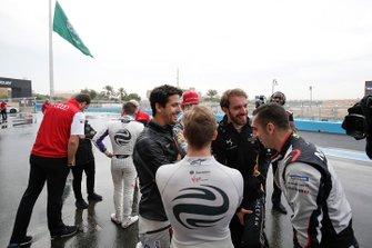 Lucas Di Grassi, Audi Sport ABT Schaeffler, Daniel Abt, Audi Sport ABT Schaeffler, Jean-Eric Vergne, DS TECHEETAH, Sébastien Buemi, Nissan e.Dams, Sam Bird, Envision Virgin Racing