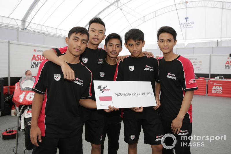 Afridza Munandar, Adenanta Putra, Lucky Hendriansya, Mario Suryo Aji dan Agung Fachrul