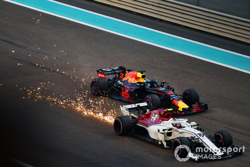 Шарль Леклер, Sauber C37, Даніель Ріккардо, Red Bull Racing RB14