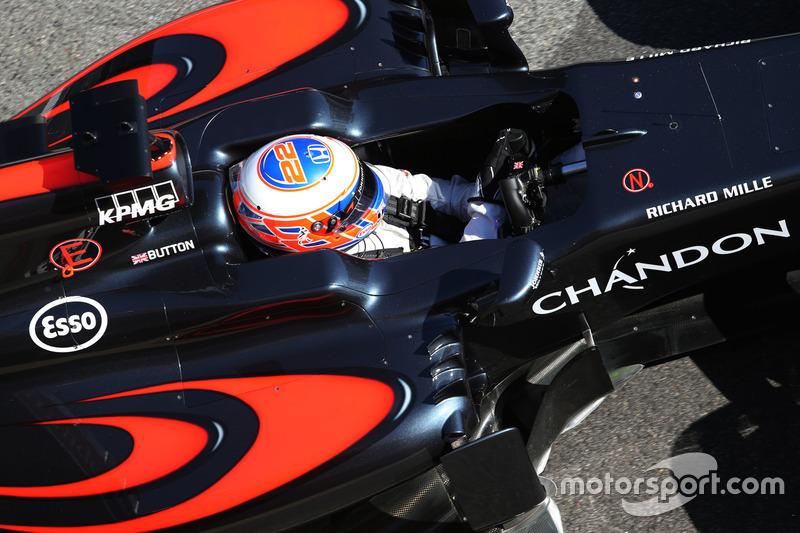 Jenson Button, McLaren Honda