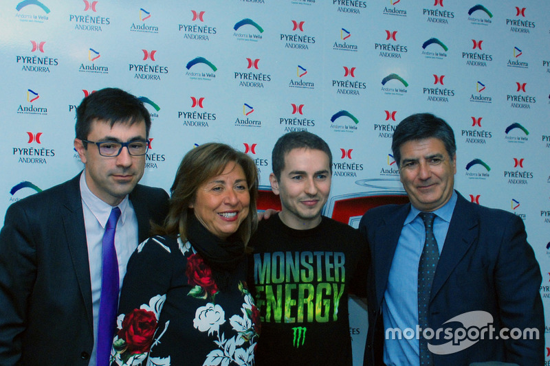 Jorge Lorenzo, Yamaha Factory Racing during the press conference