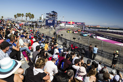 Rallycross-Action in Los Angeles