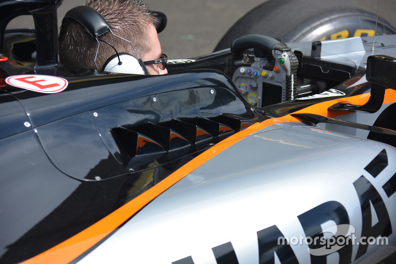Detalle del Sahara Force India F1 VJM09