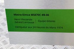 Motorsport.com technical illustrator Giorgio Piola offer his design of the 1974 Matra-Simca MS670C to Henri Pescarolo