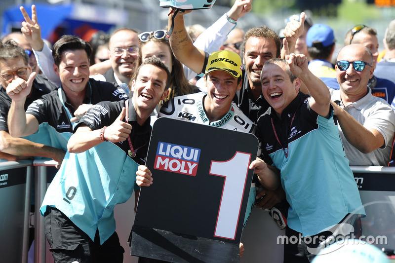 Race winner Joan Mir, Leopard Racing, KTM