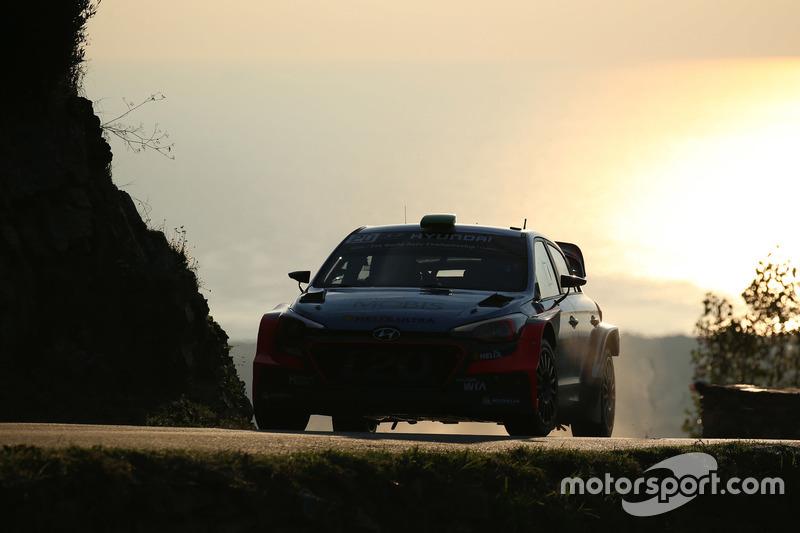 Hayden Paddon, John Kennard, Hyundai New i20 WRC, Hyundai Motorsport