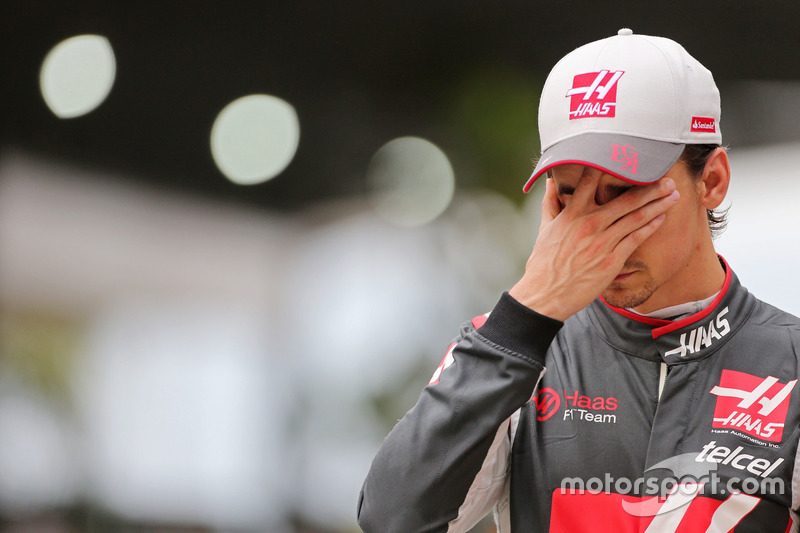 5. Эстебан Гутьеррес, Haas F1 Team (21-е место, 0 очков)