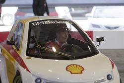 Кімі Райкконен, Ferrari на події Shell Eco-marathon car