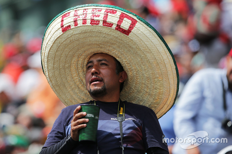 Un fan de Sergio Pérez, Sahara Force India F1