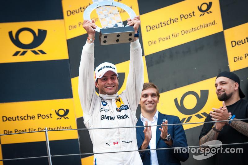 Podio: il terzo classificato Bruno Spengler, BMW Team MTEK, BMW M4 DTM