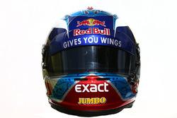 The helmet of Max Verstappen, Scuderia Toro Rosso