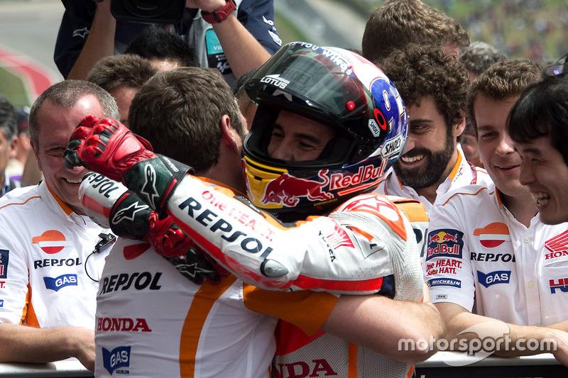 Marc Marquez, Repsol Honda Team, Honda in Parc ferme