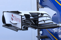 Sauber C35 nose detail