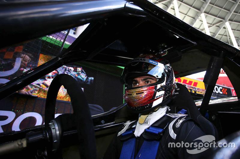 Pascal Wehrlein en el ROC Car