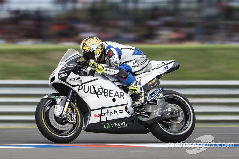 Karel Abraham, Aspar Racing Team, prova la partenza