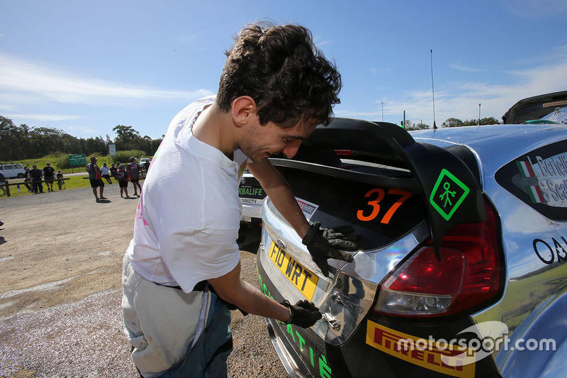 Lorenzo Bertelli, Ford Fiesta WRC