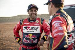 Matthieu Baumel and Nasser Al-Attiyah, Toyota Gazoo Racing