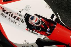 Nigel Mansell, McLaren MP4/10B Mercedes