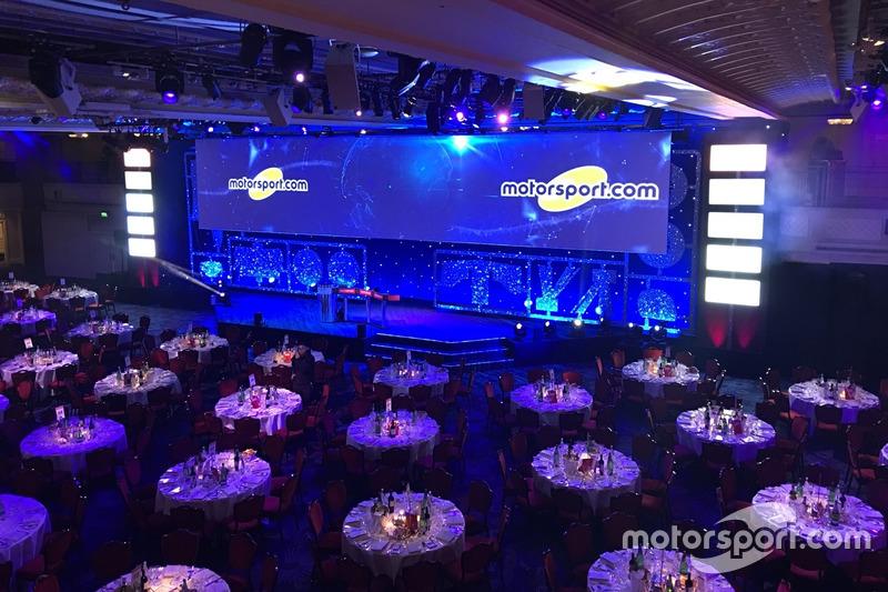Ambiente en los premios Autosport