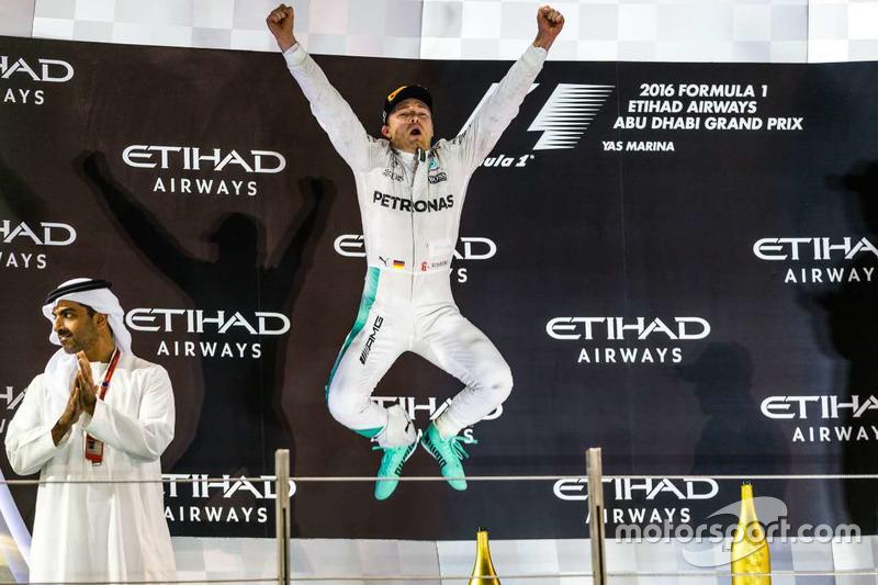 Campeón del mundo F1 2016 :Nico Rosberg, Mercedes AMG