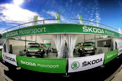 L'assistance Skoda Motorsport