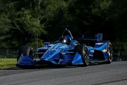 Juan Pablo Montoya tests the 2018 Chevrolet
