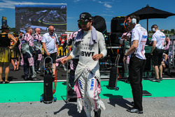 Sergio Perez, Force India on the grid