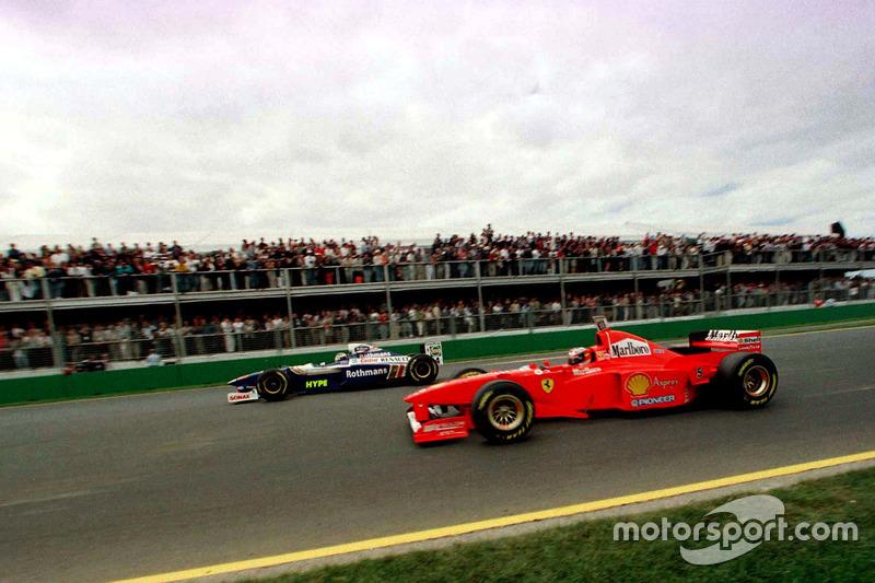 1997-й был годом двух гонщиков: Михаэля Шумахера и Жака Вильнева. Оба проводили второй год в своих командах: немец в Ferrari, а канадец в Williams