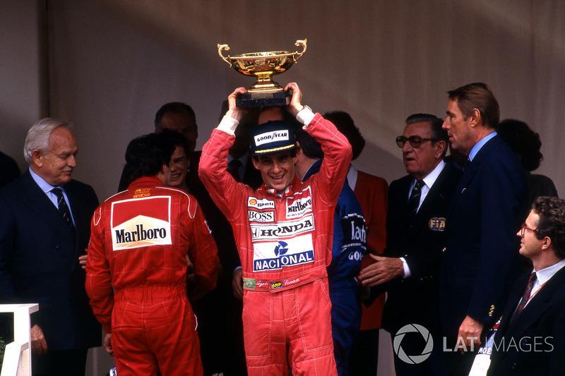 В 1991-м Сенна стал трехкратным чемпионом мира, выиграв семь гонок в сезоне