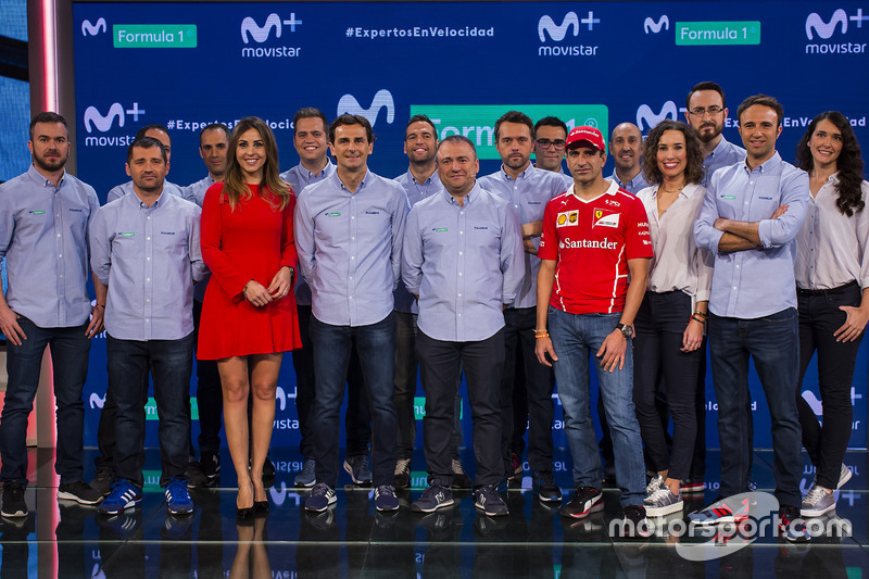Presentación Movistar + F1 temporada 2017
