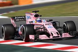 Sergio Pérez, Sahara Force India VJM10