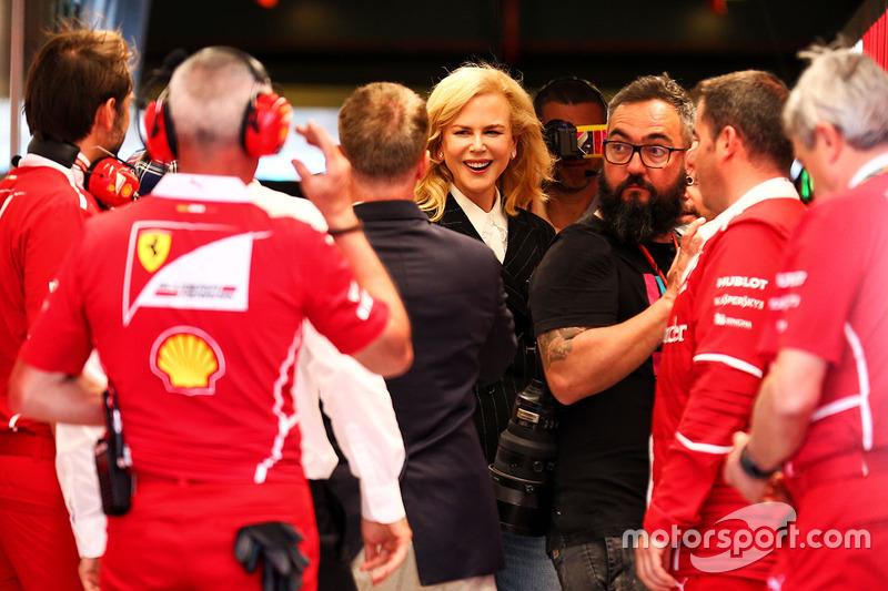 Nicole Kidman bei Ferrari