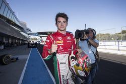 Charles Leclerc, PREMA Powerteam, décroche la pole position