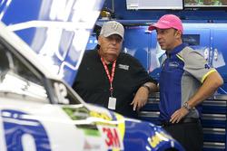 Rick Hendrick, Chad Knaus, crew chief of Jimmie Johnson, Hendrick Motorsports Chevrolet