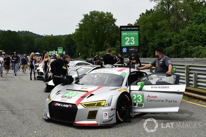 #23 Alex Job Racing Audi R8 LMS GT3