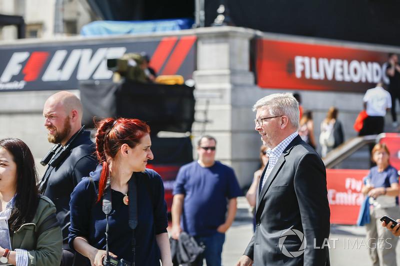 Ross Brawn, Director General de Motorsports, FOM