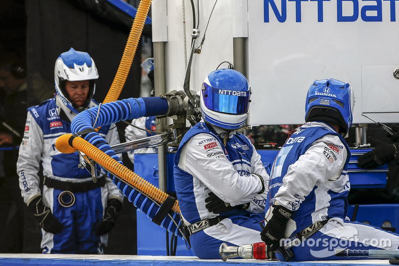 Tony Kanaan, Chip Ganassi Racing Honda equipo