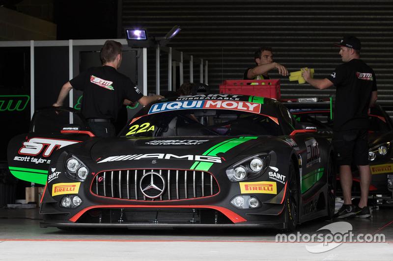 #22 STM / HTP Motorsport Mercedes AMG GT3