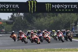 Marc Marquez, Repsol Honda Team, race start