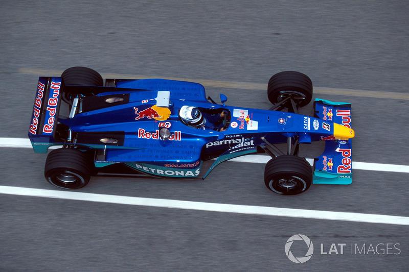 Сентябрь 2000: Кими Райкконен. Тесты в Муджелло с Sauber