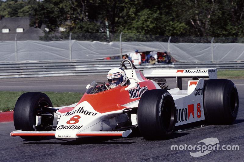 1980: McLaren M30 Ford-Cosworth (одно шестое место, 11-е место в КК в 1980-м)