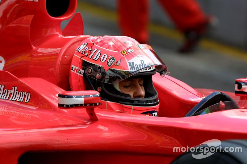 2001: Формула 1 та Ferrari